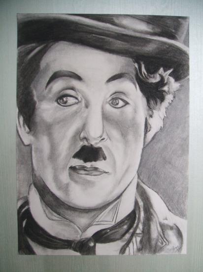 Charlie Chaplin by Epona